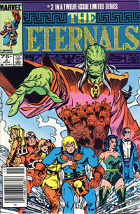 Cover Thumbnail for Eternals (Marvel, 1985 series) #2 [Newsstand]