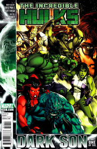 Cover for Incredible Hulks (Marvel, 2010 series) #612 [Direct Edition]