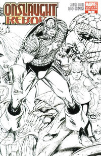 Cover Thumbnail for Onslaught Reborn (Marvel, 2007 series) #1 [Cover C]