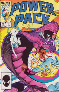 Cover Thumbnail for Power Pack (Marvel, 1984 series) #9 [Direct Edition]