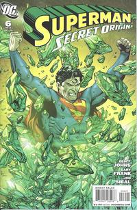 Cover Thumbnail for Superman: Secret Origin (DC, 2009 series) #6 [Gary Frank Kryptonite Cover]