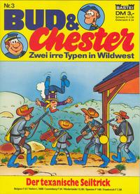 Cover Thumbnail for Bud & Chester (Bastei Verlag, 1981 series) #3