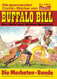 Cover Thumbnail for Buffalo Bill (Bastei Verlag, 1982 series) #1