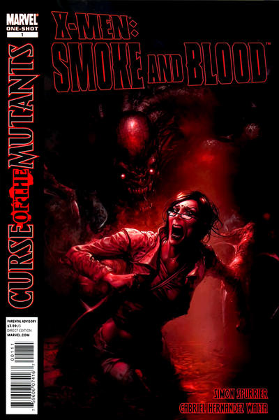 Cover for X-Men: Curse of the Mutants - Smoke and Blood (Marvel, 2010 series) #1