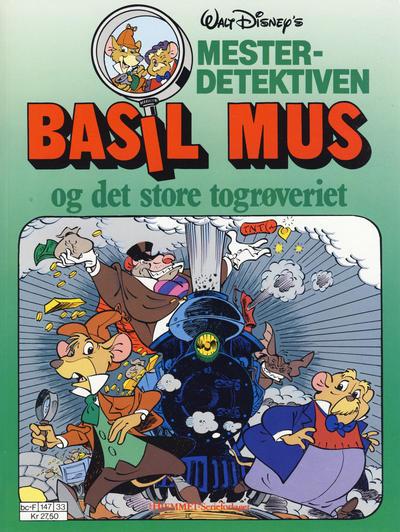 Cover for Mesterdetektiven Basil Mus (Hjemmet / Egmont, 1987 series) #[3]