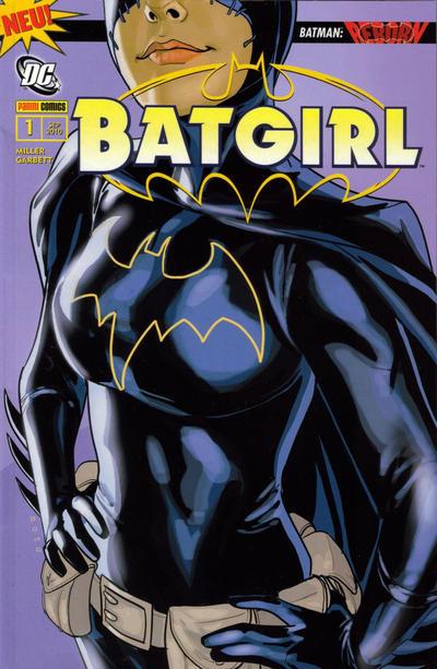 Cover for Batgirl (Panini Deutschland, 2010 series) #1 - Ein Neuanfang