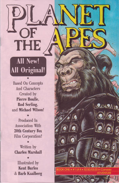 Cover for Planet of the Apes (Malibu, 1990 series) #1