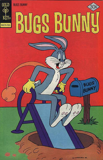 Cover for Bugs Bunny (Western, 1962 series) #184 [Whitman Variant]