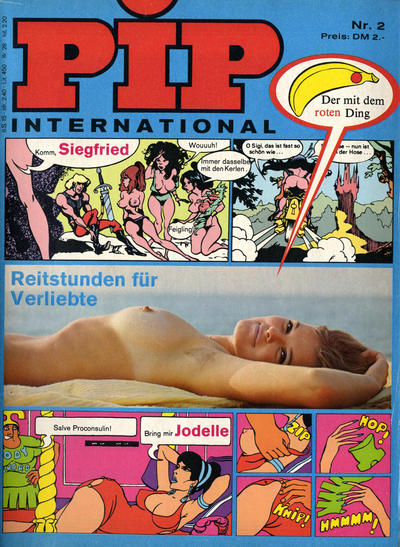 Cover for Pip (Verlags Presse Zürich, 1971 series) #v1#2