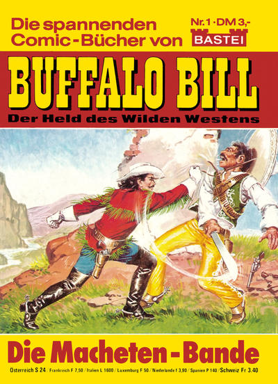 Cover for Buffalo Bill (Bastei Verlag, 1982 series) #1