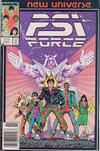 Cover for Psi-Force (Marvel, 1986 series) #1 [Newsstand]