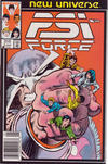 Cover for Psi-Force (Marvel, 1986 series) #3 [Newsstand]