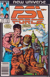 Cover for Psi-Force (Marvel, 1986 series) #6 [Newsstand]