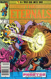 Cover for Eternals (Marvel, 1985 series) #3 [Newsstand]
