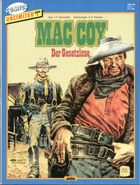 Cover Thumbnail for Comics Unlimited (Egmont Ehapa, 1986 series) #3 - Mac Coy - Der Gesetzlose