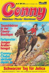 Cover Thumbnail for Conny (Bastei Verlag, 1980 series) #81