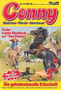 Cover Thumbnail for Conny (Bastei Verlag, 1980 series) #113