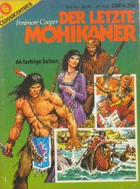 Cover Thumbnail for Classicomics (Schwager & Steinlein, 1974 series) #6 - Der letzte Mohikaner