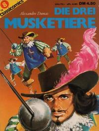 Cover Thumbnail for Classicomics (Schwager & Steinlein, 1974 series) #8 - Die drei Musketiere