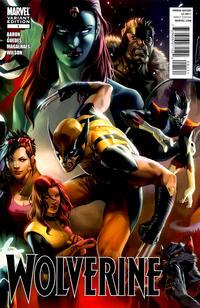 Cover Thumbnail for Wolverine (Marvel, 2010 series) #1 [Djurdjevic Cover]