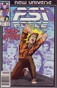 Cover for Psi-Force (Marvel, 1986 series) #9 [newsstand]