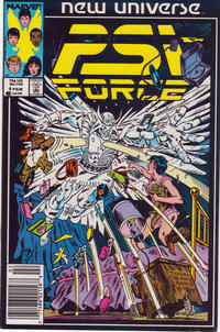 Cover Thumbnail for Psi-Force (Marvel, 1986 series) #4 [Newsstand]