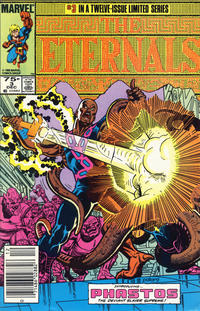 Cover Thumbnail for Eternals (Marvel, 1985 series) #3 [Newsstand]