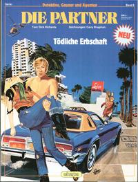 Cover Thumbnail for Detektive, Gauner und Agenten (Egmont Ehapa, 1982 series) #8 - Die Partner - Tödliche Erbschaft
