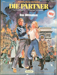 Cover Thumbnail for Detektive, Gauner und Agenten (Egmont Ehapa, 1982 series) #10 - Die Partner - Das Ultimatum