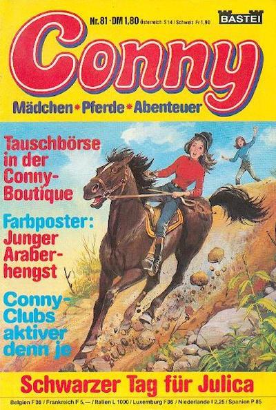 Cover for Conny (Bastei Verlag, 1980 series) #81