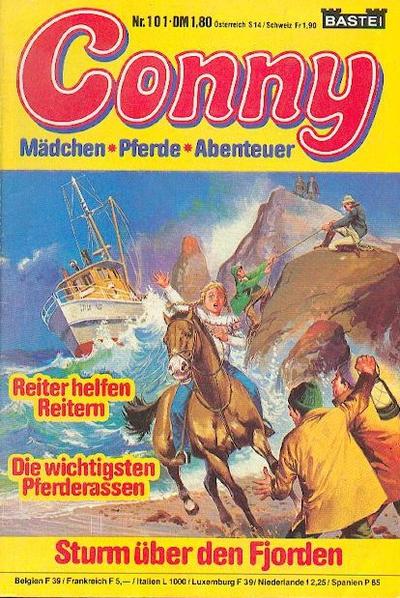Cover for Conny (Bastei Verlag, 1980 series) #101