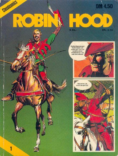 Cover for Classicomics (Schwager & Steinlein, 1974 series) #1 - Robin Hood