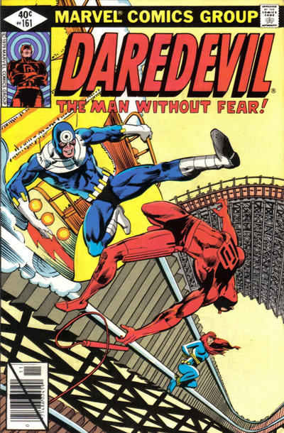 Cover for Daredevil (Marvel, 1964 series) #161 [Newsstand Edition]