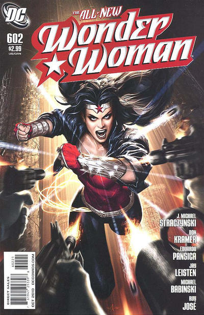 Cover for Wonder Woman (DC, 2006 series) #602