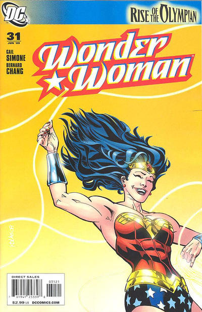 Cover for Wonder Woman (DC, 2006 series) #31