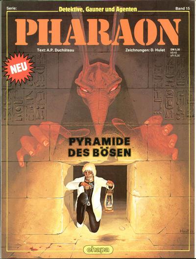Cover for Detektive, Gauner und Agenten (Egmont Ehapa, 1982 series) #15 - Pharaon - Pyramide des Bösen