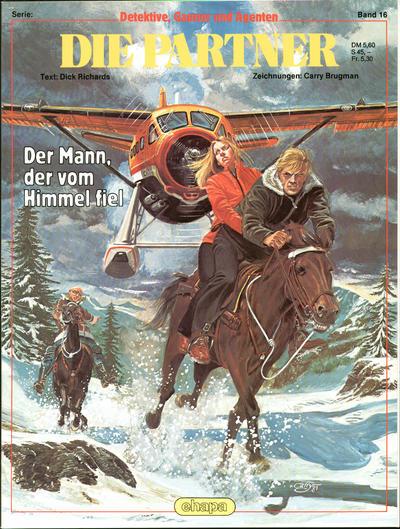 Cover for Detektive, Gauner und Agenten (Egmont Ehapa, 1982 series) #16 - Die Partner - Der Mann, der vom Himmel fiel