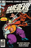 Cover for Daredevil (Marvel, 1964 series) #171 [Newsstand Edition]