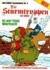 Cover for Die Sturmtruppen (Condor, 1981 series) #5
