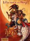 Cover for Die Legenden von Troy (Carlsen Comics [DE], 2010 series) #1 - Tykko, der Wüstensohn: Die Reiter des Windes