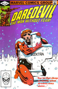 Cover Thumbnail for Daredevil (Marvel, 1964 series) #182 [Direct Edition]