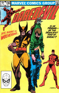 Cover Thumbnail for Daredevil (Marvel, 1964 series) #196 [Direct Edition]