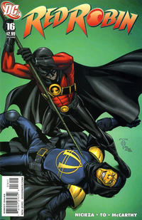Cover Thumbnail for Red Robin (DC, 2009 series) #16