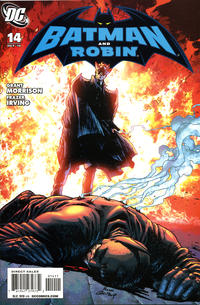 Cover Thumbnail for Batman and Robin (DC, 2009 series) #14 [Direct Sales]