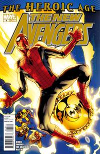 Cover Thumbnail for New Avengers (Marvel, 2010 series) #4 [Standard Cover]