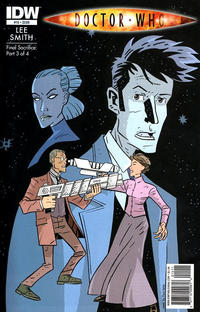 Cover Thumbnail for Doctor Who (IDW, 2009 series) #15 [Regular Cover]