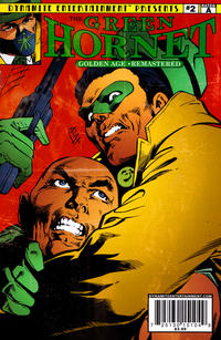 Cover for The Green Hornet: Golden Age Re-Mastered (Dynamite Entertainment, 2010 series) #2