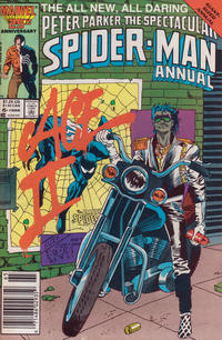 Cover Thumbnail for The Spectacular Spider-Man Annual (Marvel, 1979 series) #6 [newsstand]
