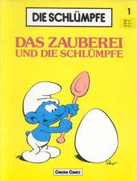 Cover Thumbnail for Die Schlümpfe (Carlsen Comics [DE], 1982 series) #1 - Das Zauberei und die Schlümpfe