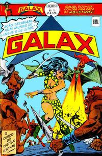 Cover Thumbnail for Lançamento (4ª Série) [Galax] (Editora Brasil-América [EBAL], 1978 series) #2